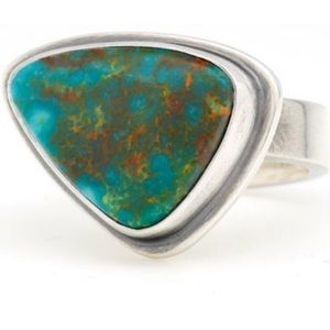 NWOT Artisan kingman turquoise ring